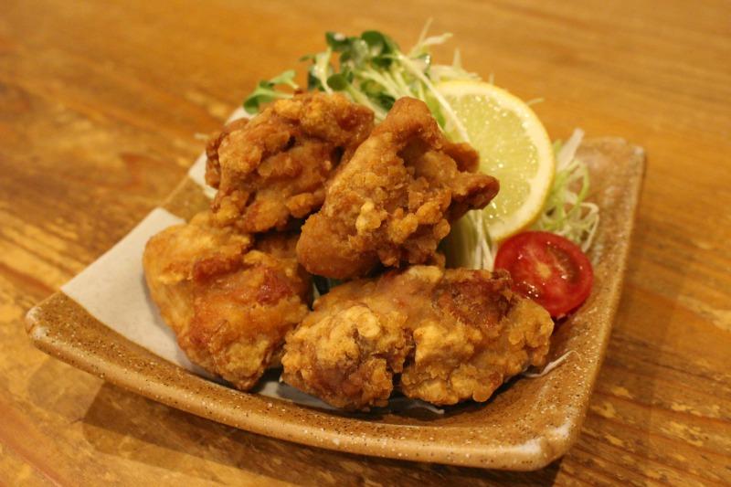最有人气的日式炸鸡 480日元