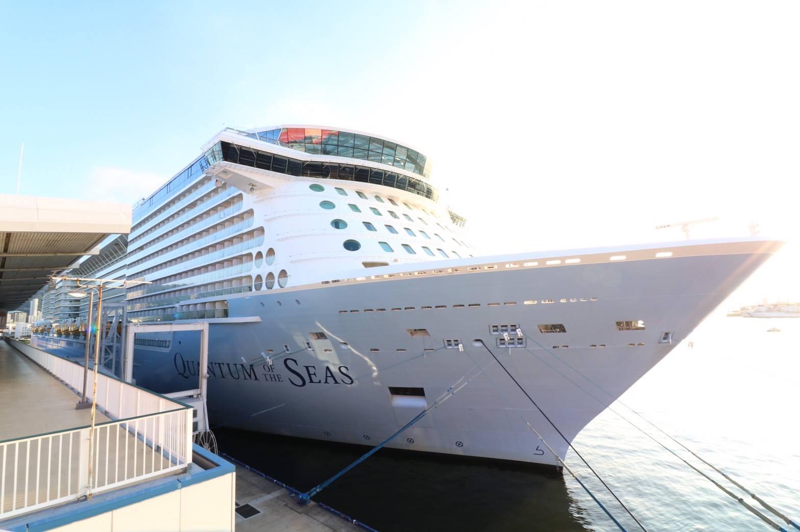 世界最大級の超大型豪華客船 quantum of the seas ichibankobe