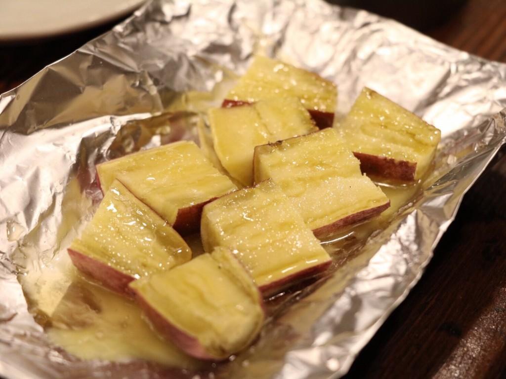 おさつバターは女性に人気です。280円(税別)
