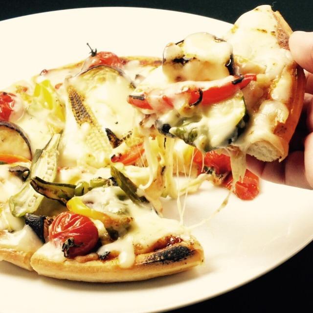 野菜のトマトソーピザ 1,180円