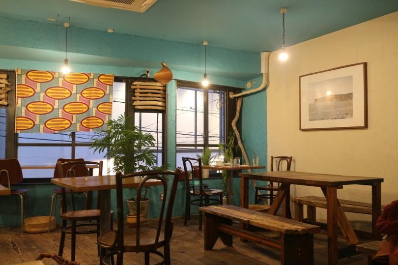 YIDAKI CAFE 内観