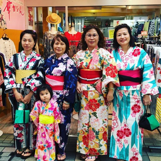 着物レンタルは観光客の皆様にも人気!