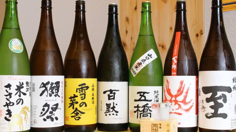 新潟・京都・栃木・秋田・山形などの全国の美味しい日本酒