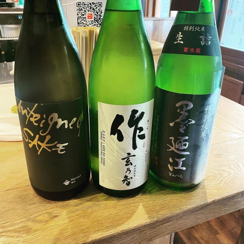 季節の日本酒を取り揃えております!