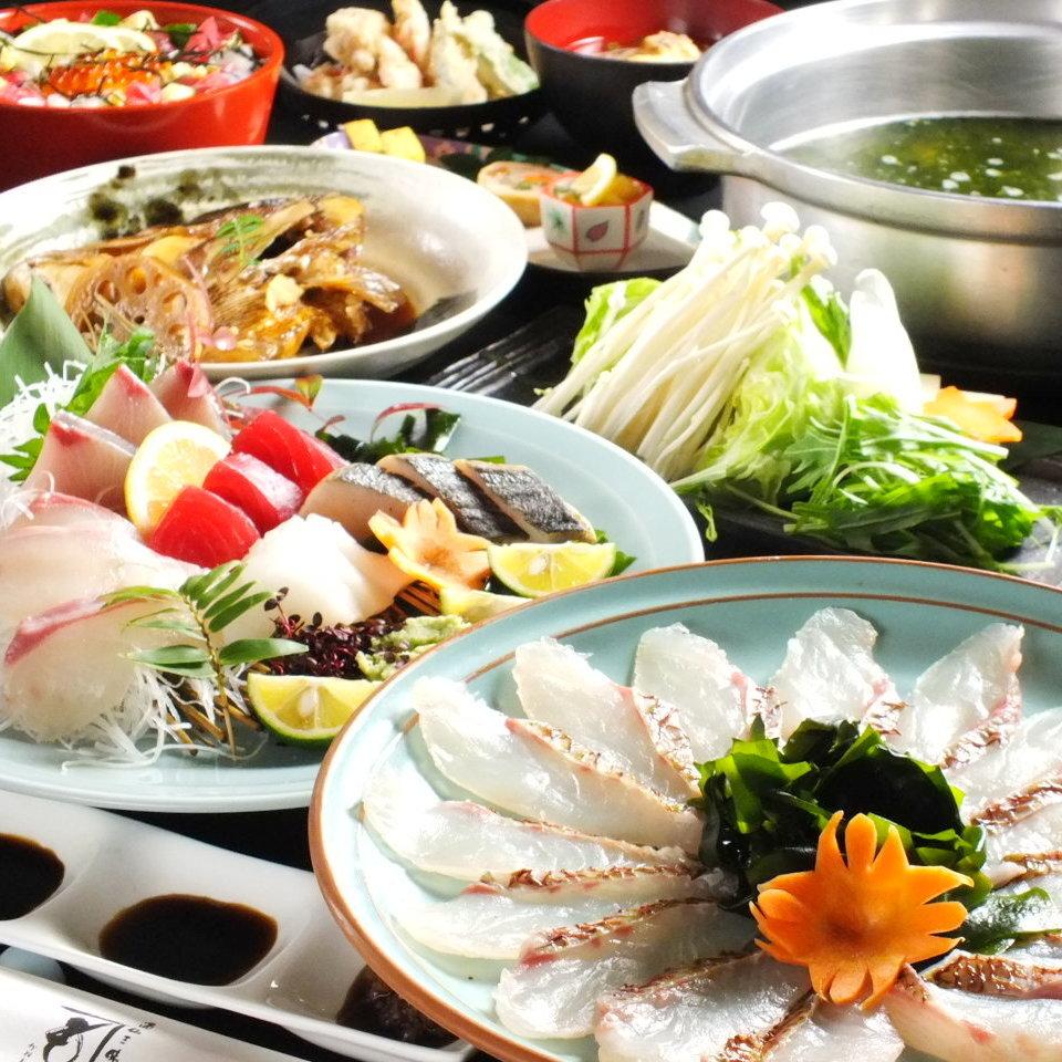 季節ごとに異なった限定コース料理も魅力的