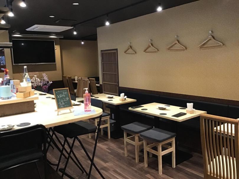 こだわりの日本酒とお料理をゆっくりお楽しみください。