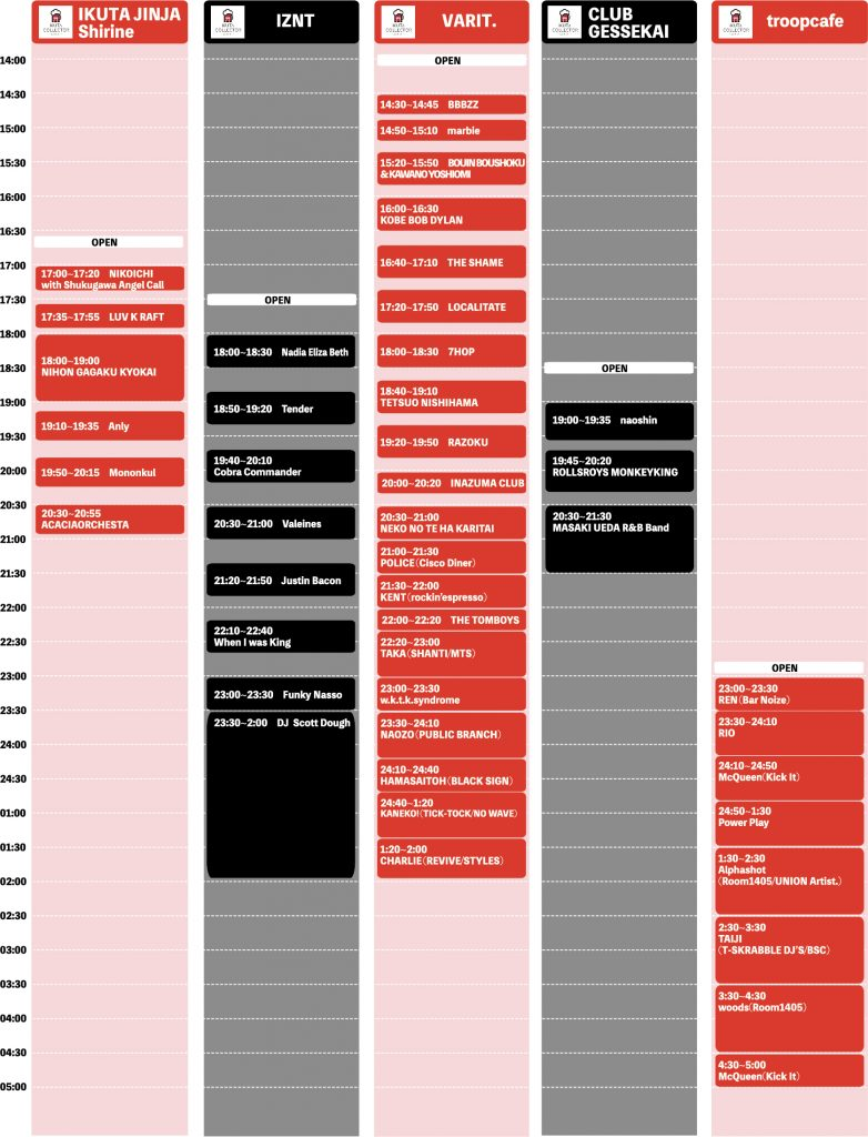 Collector's Collector_timetable_ol