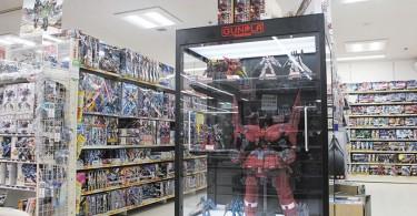 Best selection of large-sized Gundam plastic models