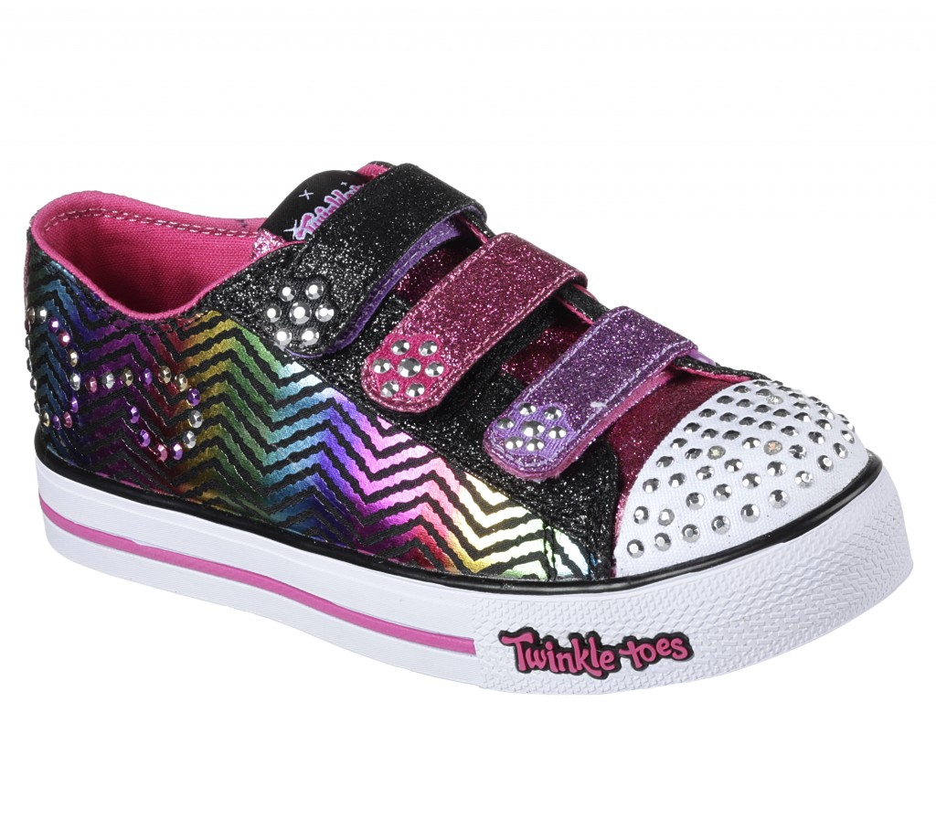 「Twinkle Toes」<br /> Super-popular light-up children's shoes whose toes flash when walking.