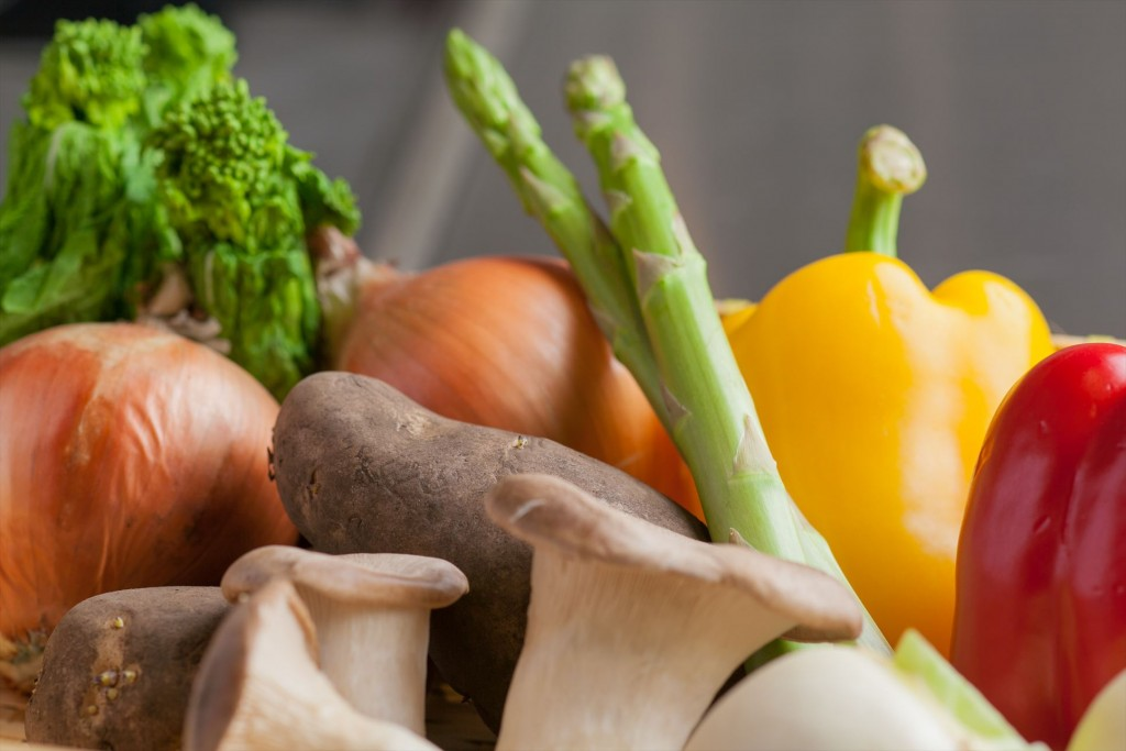 Seasonal vegetables carefully selected by the vegetable sommelier (connoisseur)!
