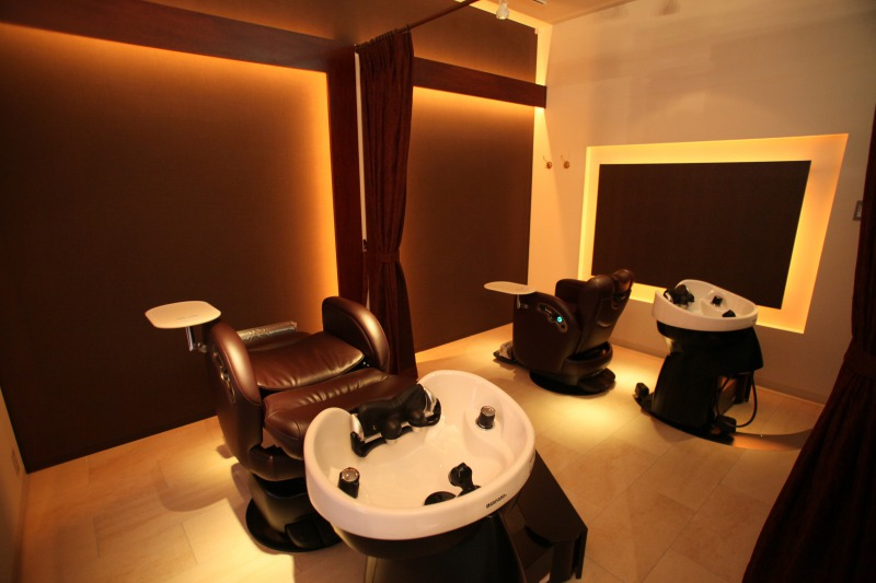Relieve your stress in their special relaxing room where you can enjoy your privacy.
