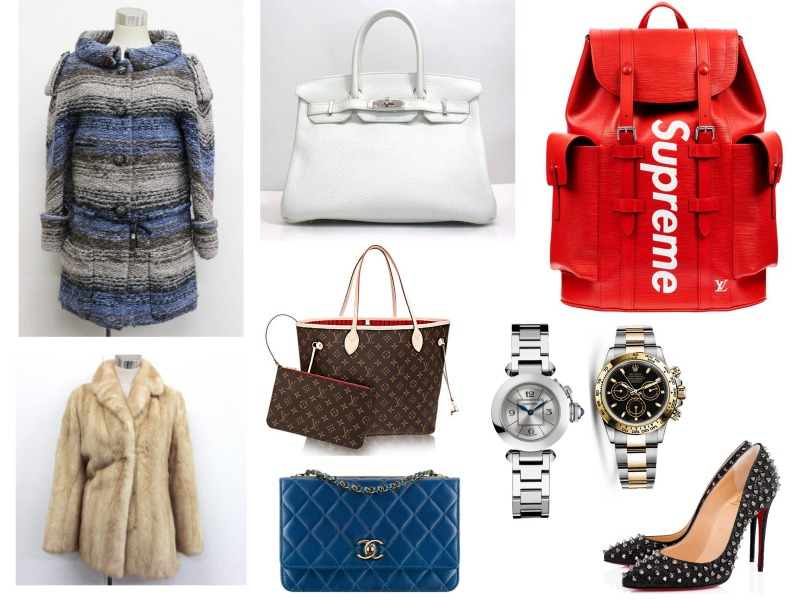 LOUIS VUITTON / CHANEL / HERMES / ROLEX / OMEGA / TAG Heuer / GUCCI / CARTIER / PRADA / Supreme