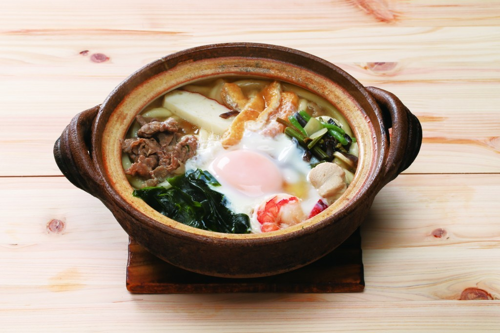 Nabeyaki udon: 950 JPY (tax included)<br />