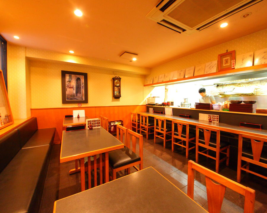 Very cozy atmosphere with Japanese-style decor